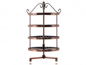4 Tier Stand / Display drum for jewelry earrings pendants