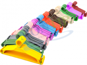 Underwear / Childrenswear hanger COLOR 32 cm 25 pcs