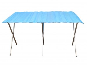 Market stall table 3 x 1 m